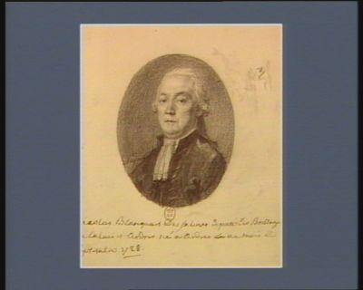 Nicolas Blanquart Des Salines deputé des Baillages de Calais et Ardres né a Ardres au mois de septembre 1728 : [dessin]
