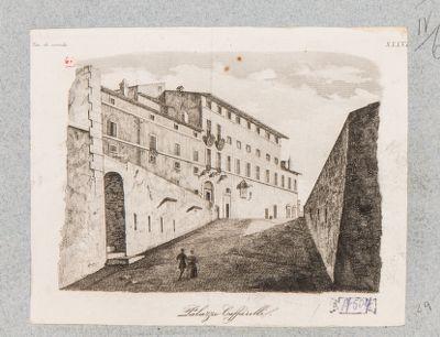 Palazzo Caffarelli, veduta generale