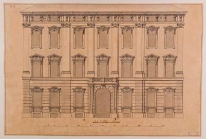 Palazzo Cenci Bolognetti, già Petroni, facciata