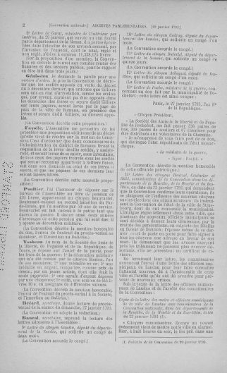 Tome 58 : Du 29 janvier au 18 février 1793 - page 2