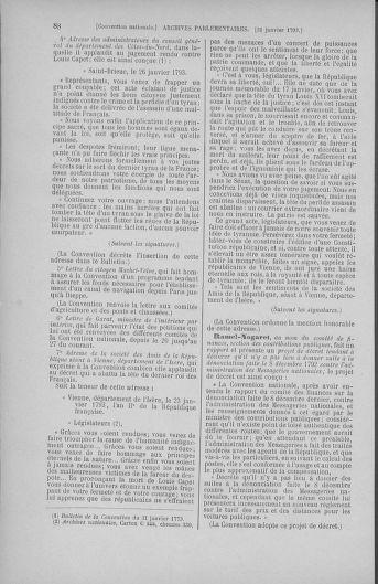 Tome 58 : Du 29 janvier au 18 février 1793 - page 88