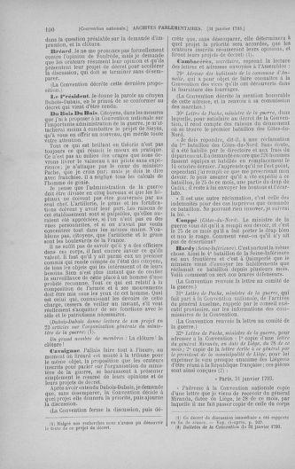 Tome 58 : Du 29 janvier au 18 février 1793 - page 100