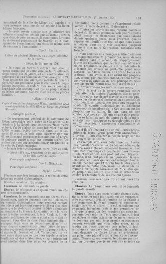 Tome 58 : Du 29 janvier au 18 février 1793 - page 101