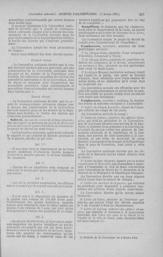 Tome 58 : Du 29 janvier au 18 février 1793 - page 217