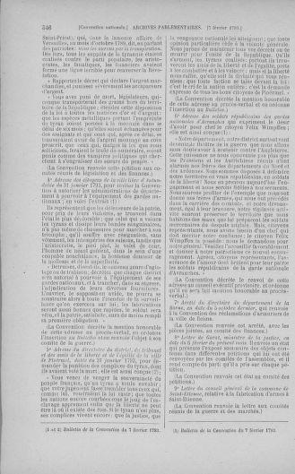 Tome 58 : Du 29 janvier au 18 février 1793 - page 346
