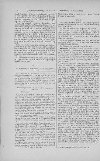 Tome 58 : Du 29 janvier au 18 février 1793 - page 348