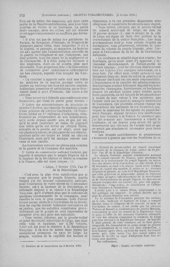 Tome 58 : Du 29 janvier au 18 février 1793 - page 372