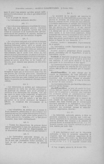 Tome 58 : Du 29 janvier au 18 février 1793 - page 387