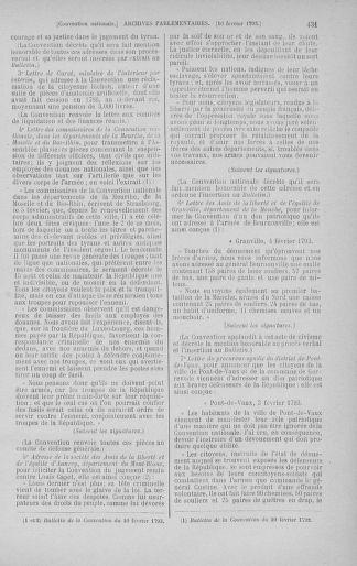 Tome 58 : Du 29 janvier au 18 février 1793 - page 431