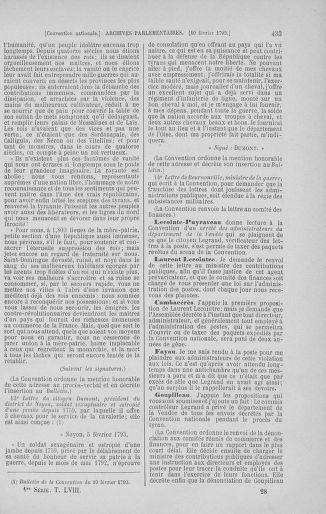 Tome 58 : Du 29 janvier au 18 février 1793 - page 433