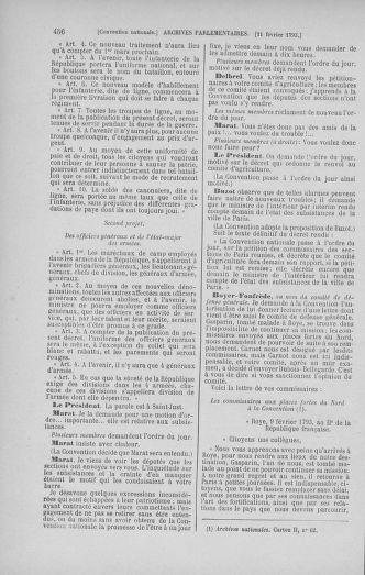 Tome 58 : Du 29 janvier au 18 février 1793 - page 456