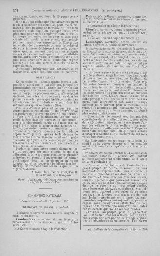 Tome 58 : Du 29 janvier au 18 février 1793 - page 572