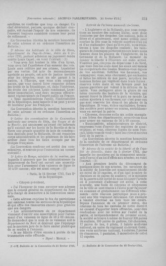 Tome 58 : Du 29 janvier au 18 février 1793 - page 573