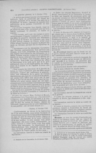 Tome 58 : Du 29 janvier au 18 février 1793 - page 610