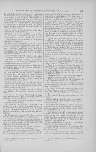 Tome 58 : Du 29 janvier au 18 février 1793 - page 635