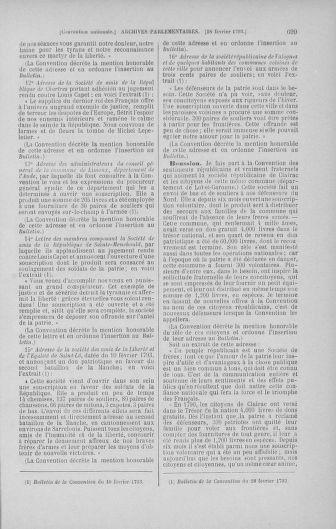 Tome 58 : Du 29 janvier au 18 février 1793 - page 699