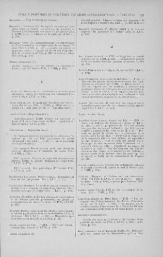 Tome 58 : Du 29 janvier au 18 février 1793 - page 765