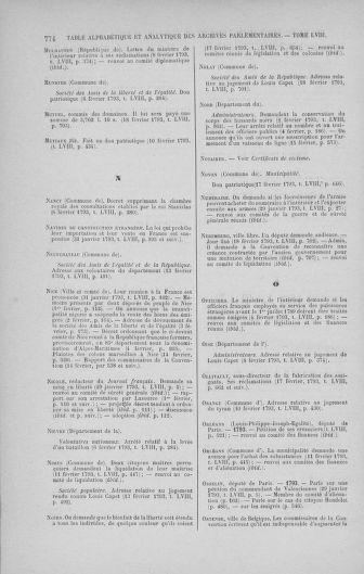 Tome 58 : Du 29 janvier au 18 février 1793 - page 774