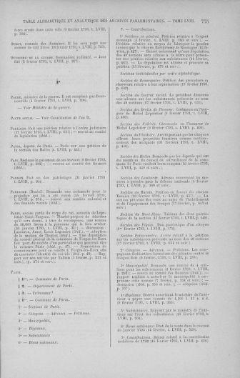 Tome 58 : Du 29 janvier au 18 février 1793 - page 775
