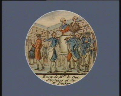 Buste de M.gr le duc d'Orleans et de Mr Necker [estampe]
