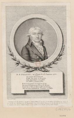 P.F. Palloy, né à <em>Paris</em> le 23 janvier 1755 [estampe]