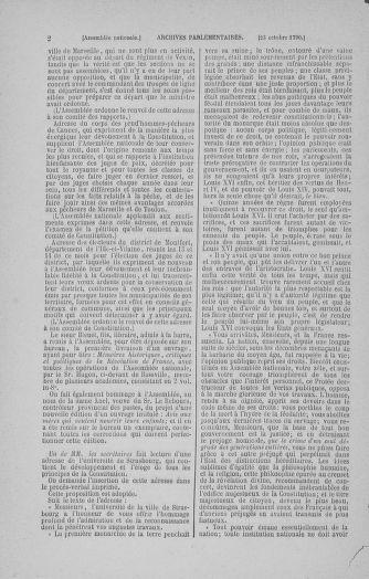 Tome 20 : Du 23 octobre au 26 novembre 1790 - page 2
