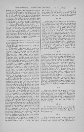 Tome 20 : Du 23 octobre au 26 novembre 1790 - page 21