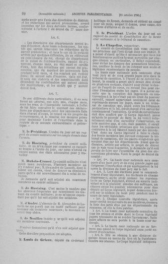 Tome 20 : Du 23 octobre au 26 novembre 1790 - page 22