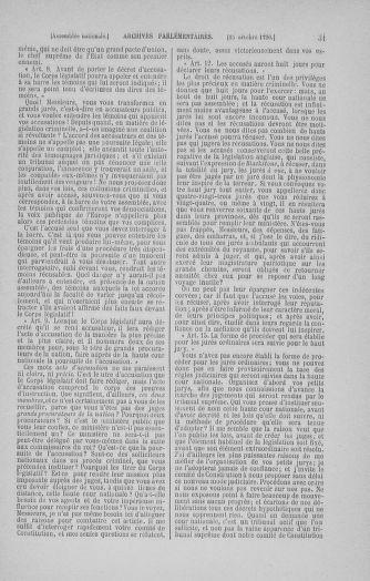 Tome 20 : Du 23 octobre au 26 novembre 1790 - page 31