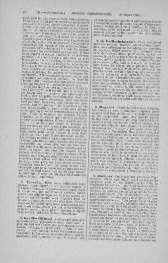 Tome 20 : Du 23 octobre au 26 novembre 1790 - page 40