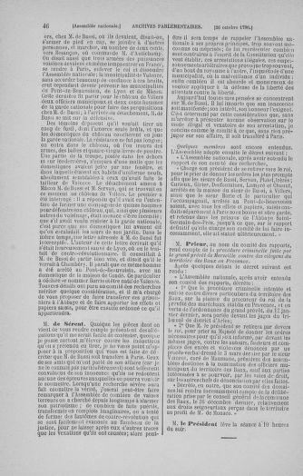 Tome 20 : Du 23 octobre au 26 novembre 1790 - page 46