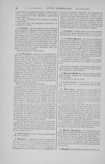 Tome 20 : Du 23 octobre au 26 novembre 1790 - page 48