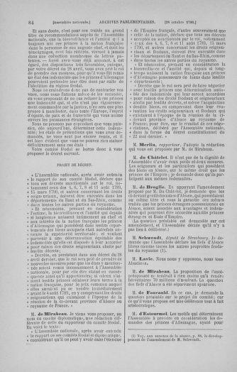 Tome 20 : Du 23 octobre au 26 novembre 1790 - page 84