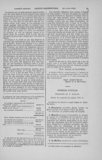 Tome 20 : Du 23 octobre au 26 novembre 1790 - page 95
