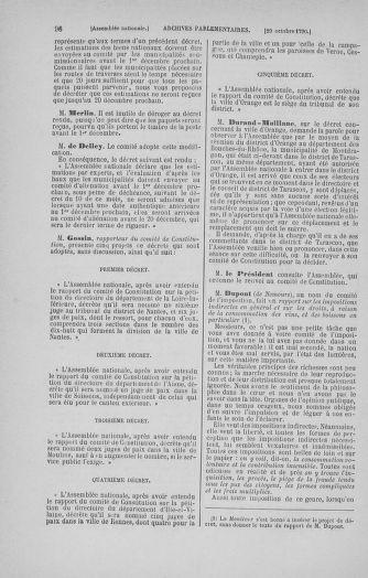 Tome 20 : Du 23 octobre au 26 novembre 1790 - page 96