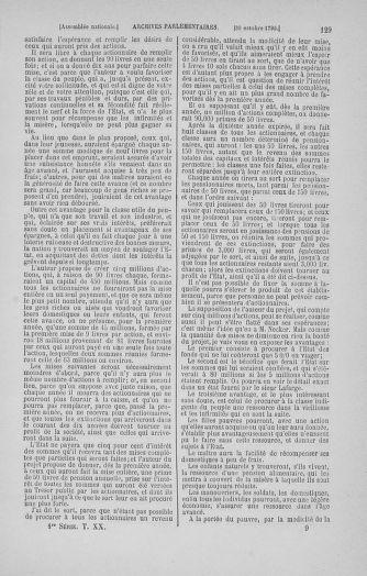 Tome 20 : Du 23 octobre au 26 novembre 1790 - page 129