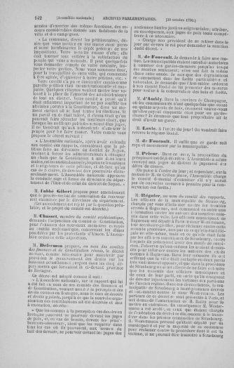 Tome 20 : Du 23 octobre au 26 novembre 1790 - page 142