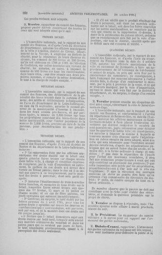 Tome 20 : Du 23 octobre au 26 novembre 1790 - page 166