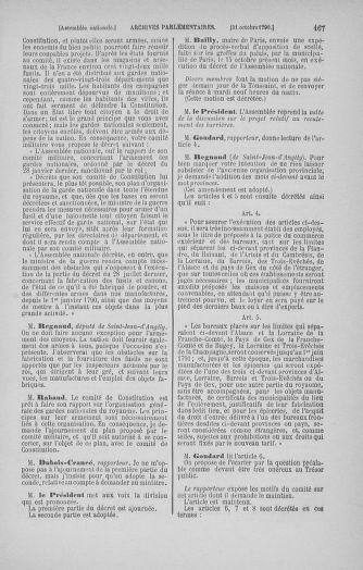 Tome 20 : Du 23 octobre au 26 novembre 1790 - page 167