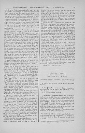 Tome 20 : Du 23 octobre au 26 novembre 1790 - page 189