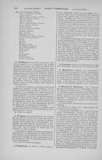 Tome 20 : Du 23 octobre au 26 novembre 1790 - page 190