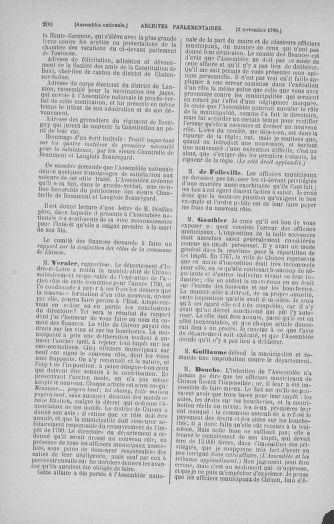 Tome 20 : Du 23 octobre au 26 novembre 1790 - page 200