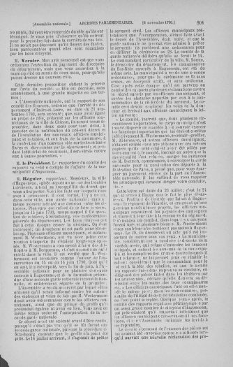 Tome 20 : Du 23 octobre au 26 novembre 1790 - page 201