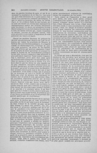 Tome 20 : Du 23 octobre au 26 novembre 1790 - page 260