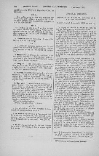 Tome 20 : Du 23 octobre au 26 novembre 1790 - page 266