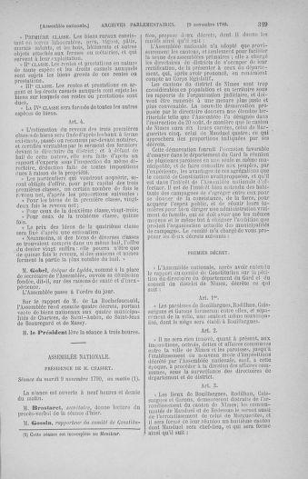 Tome 20 : Du 23 octobre au 26 novembre 1790 - page 329