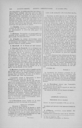 Tome 20 : Du 23 octobre au 26 novembre 1790 - page 340