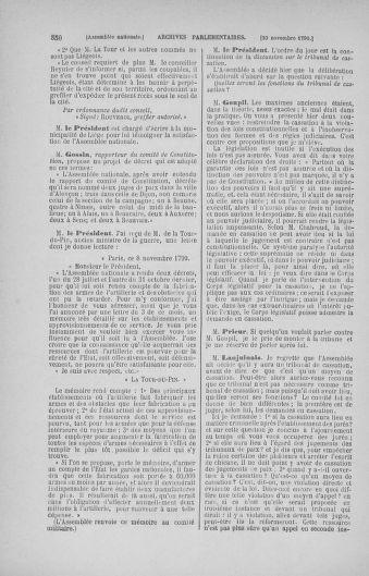 Tome 20 : Du 23 octobre au 26 novembre 1790 - page 350