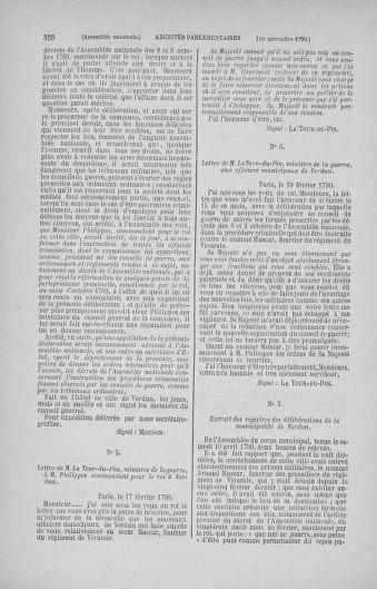 Tome 20 : Du 23 octobre au 26 novembre 1790 - page 358