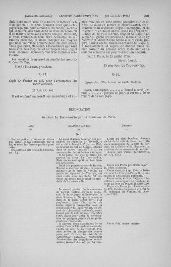 Tome 20 : Du 23 octobre au 26 novembre 1790 - page 361